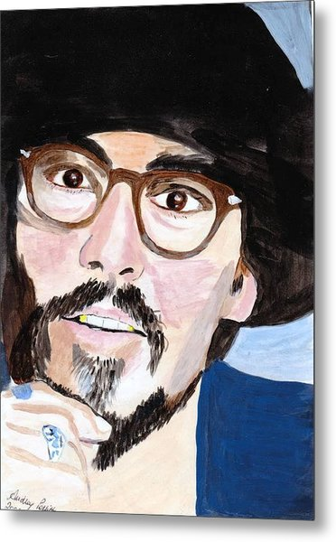 Johnny Depp 5 Metal Print