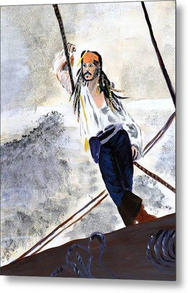 Johnny Depp 8 Metal Print