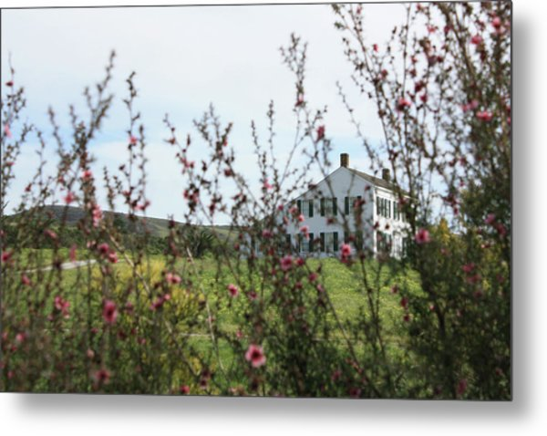 Johnston House In Half Moon Bay Metal Print