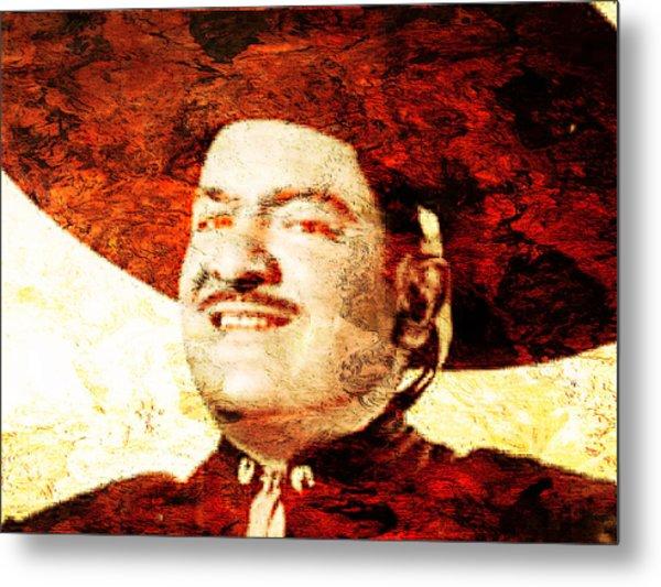 Jose Alfredo Jimenez Metal Print