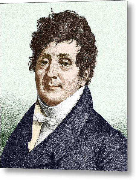 Joseph Fourier, French Mathematician Metal Print by Sheila Terry