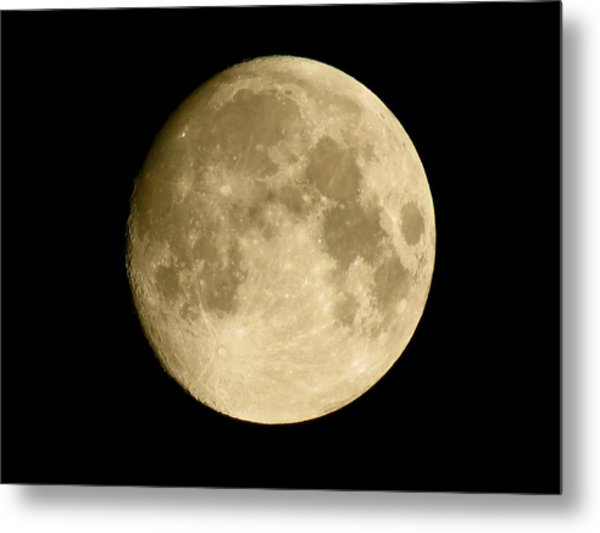 July Moon Metal Print