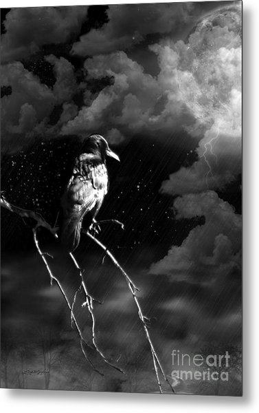 Just Another Moonlight Mile Metal Print