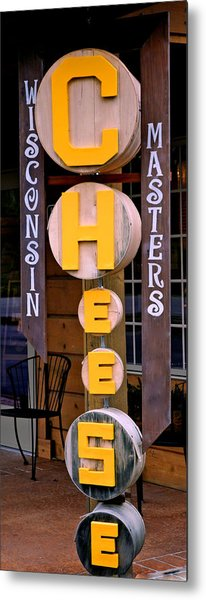 Just Say Cheese Metal Print