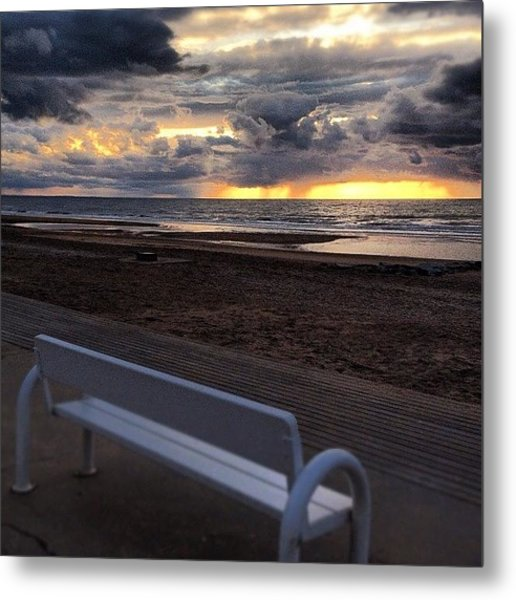 Just Seat With Me And Relax Metal Print