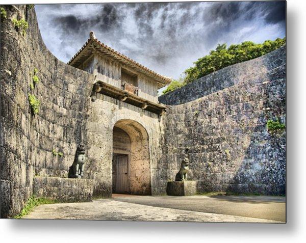 Kankaimon Gate  Metal Print by Karen Walzer