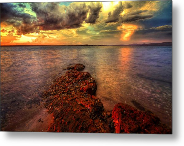 Karuah Sunset Metal Print