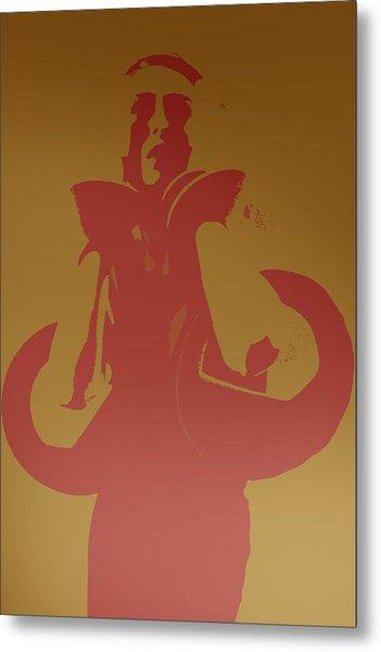 Kate Metal Print by Naxart Studio