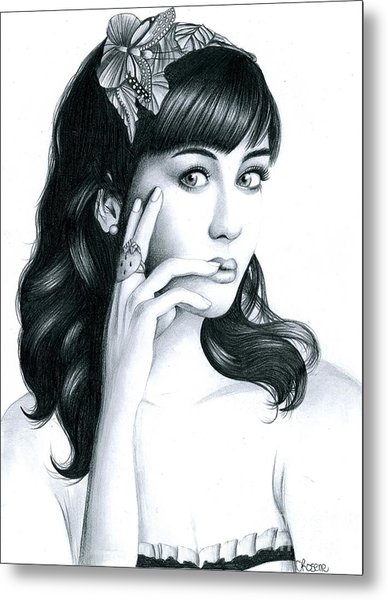 Katy Perry Metal Print