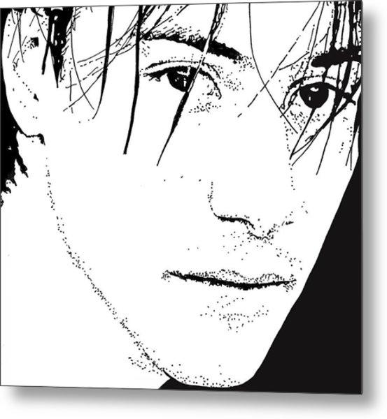 Keanu Reeves 2 Metal Print by Lori Jackson