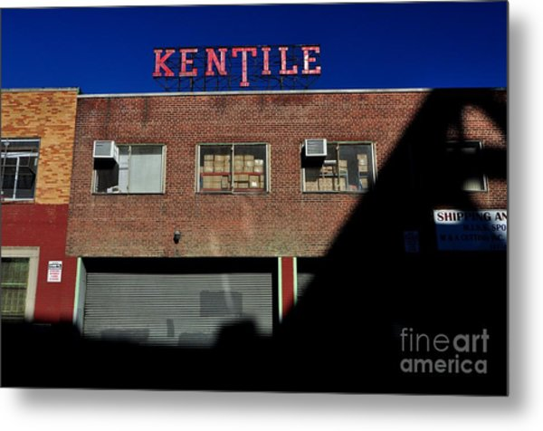 Kentile Factory Metal Print