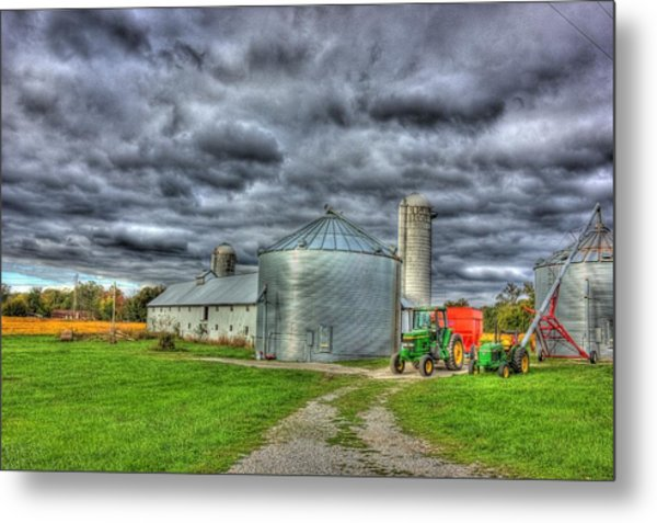 Kentucky Farm 3 Metal Print by Barry Jones