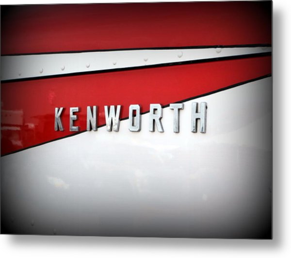 Kenworth Truck Logo Metal Print