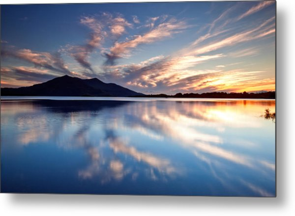 Kerry Reflections Metal Print by Brendan O Neill