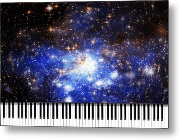 Keys Of The Divine Metal Print