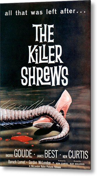 Killer Shrews, The, 1959 Metal Print by Everett