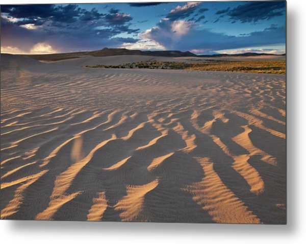 Killpecker Dunes At Sunset Metal Print