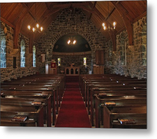 Kilmore Church Dervaig Metal Print