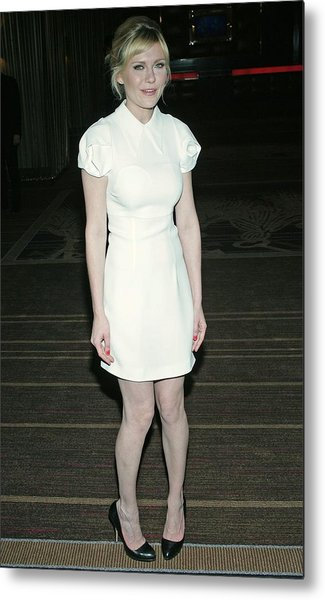 Kirsten Dunst Wearing A Miu Miu Dress Metal Print