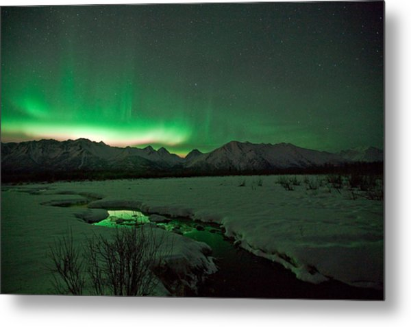 Knik Alaska Northern Lights Photograph By Sam Amato
