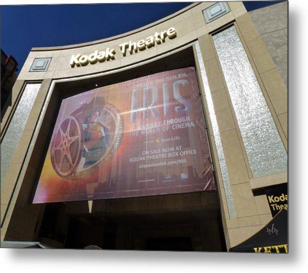 Kodak Theatre Metal Print