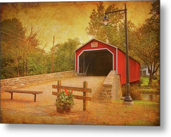 Kreidersville Bridge 2 Metal Print