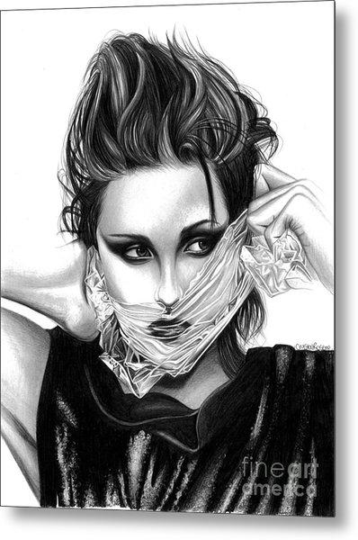 Kristen Stewart 2 Metal Print