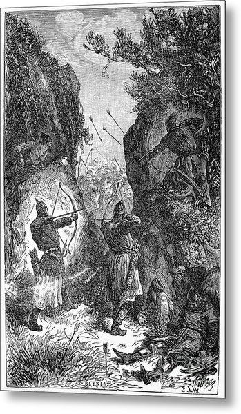Kublai Khans Army, 1281 Metal Print