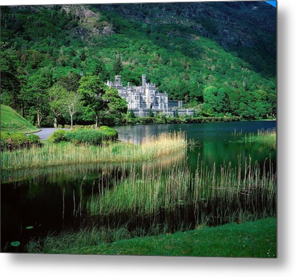Kylemore Abbey, Co Galway, Ireland Metal Print by The Irish Image Collection