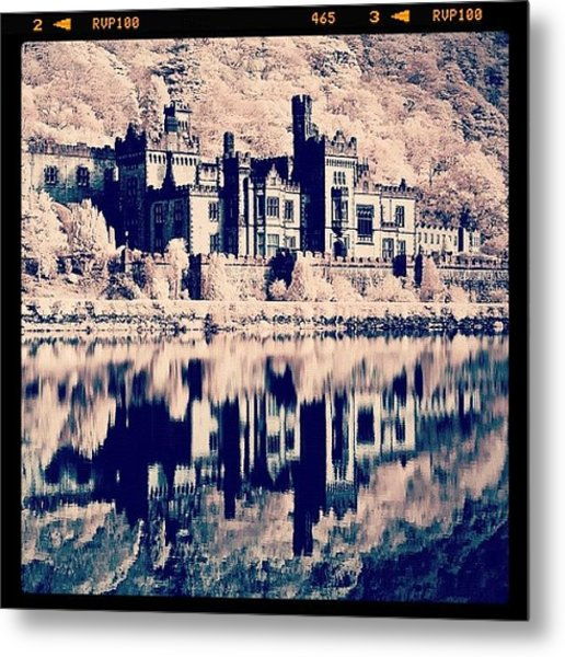Kylemore Abbey, Ireland. Taken With Metal Print