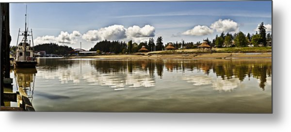 La Conner Slough  Metal Print
