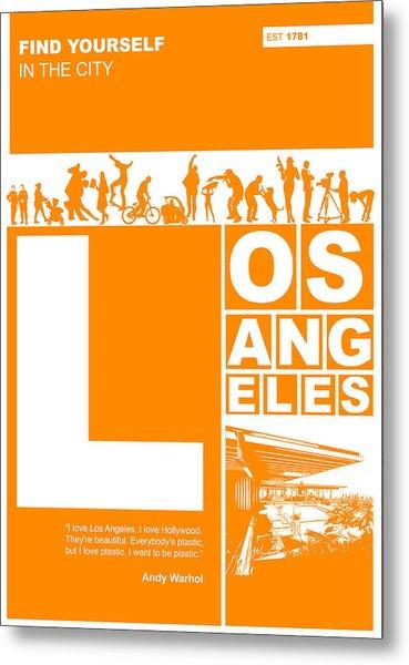 La Orange Poster Metal Print