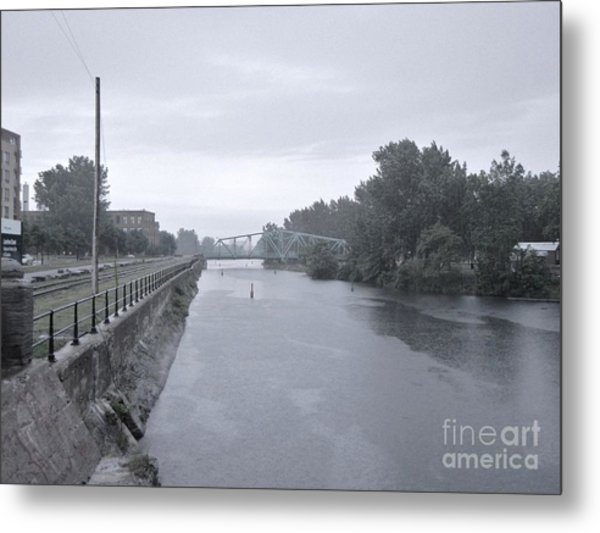 Lachine Canal At Atwater Metal Print