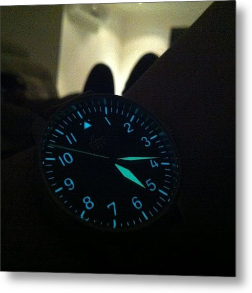 #laco #watches Have #awesome #lume Metal Print