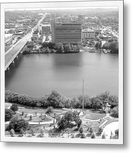 Lady Bird Lake Austin Metal Print