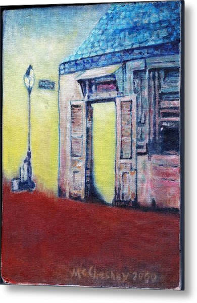 Lafitte's Blacksmith Shop From The Shortside Metal Print