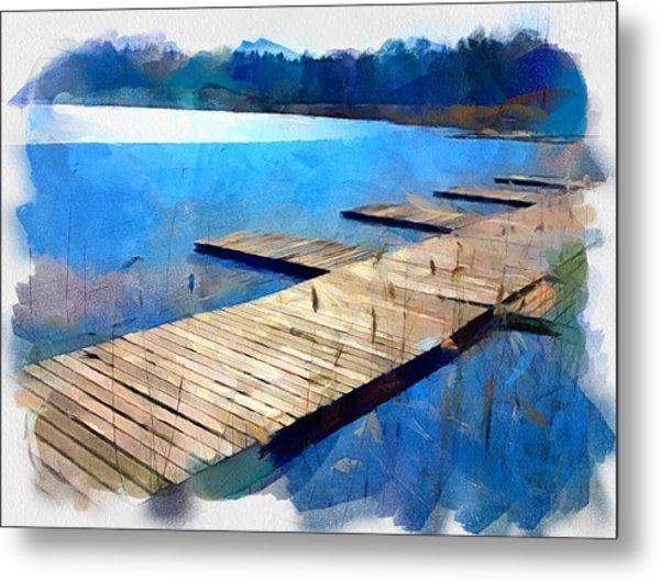 Lake 3 Metal Print by Yury Malkov