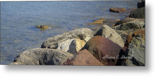 Landscapes L215 Metal Print by Monica C Stovall