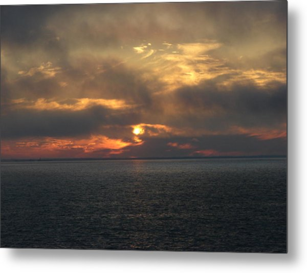 Lake Huron Sunset 3 Metal Print