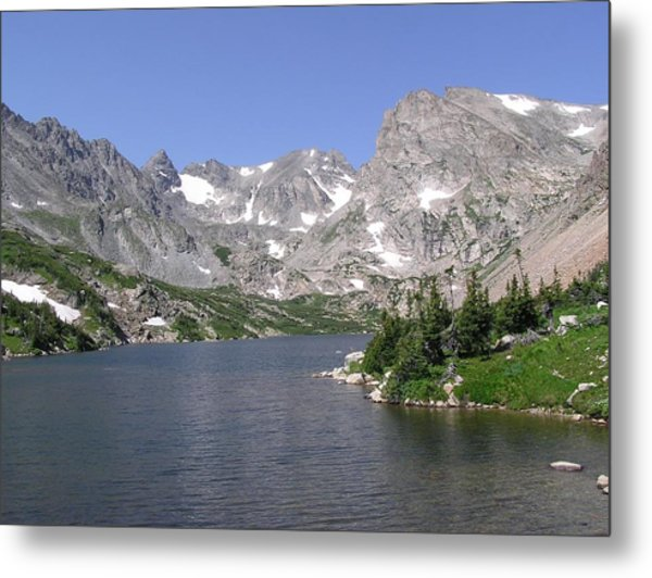 Lake Isabelle And The Continental Divide Metal Print