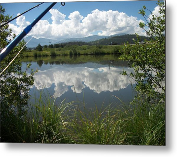 Lake Metal Print by Joey Sack