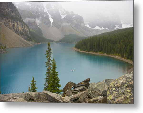 Lake Louise - 0308 Metal Print
