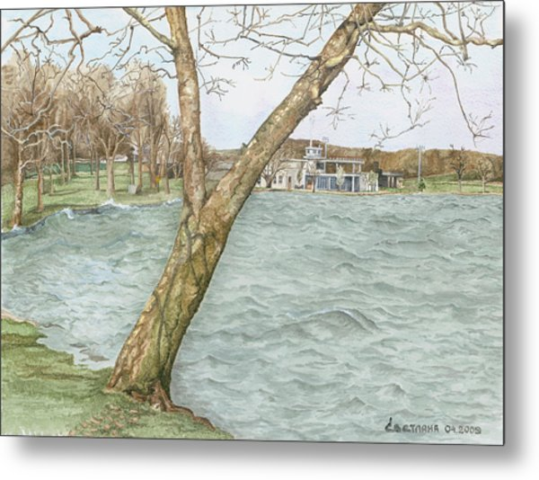 Lake Maxinkuckee Shoreline Metal Print