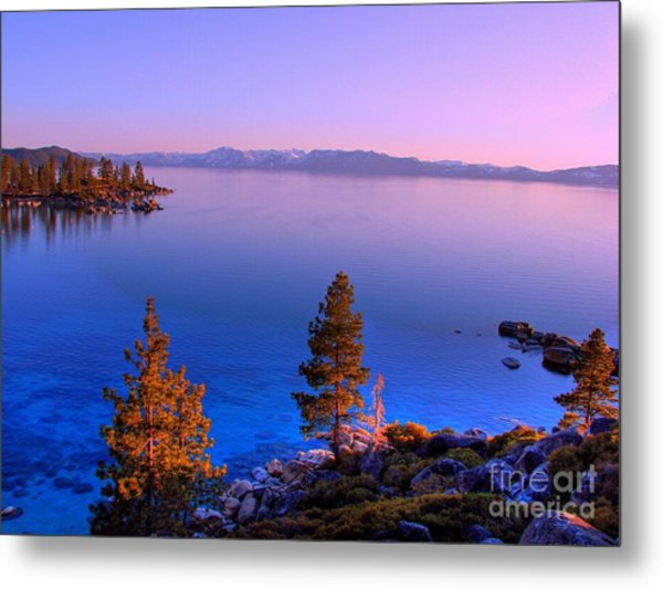 Lake Tahoe Serenity Metal Print by Scott McGuire