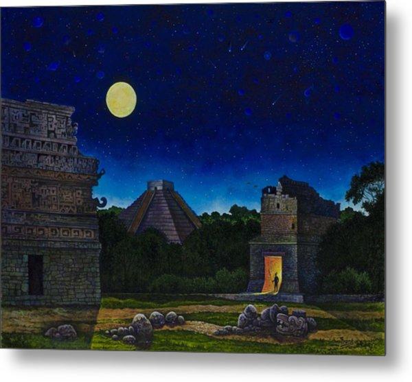 Land Of The Maya Metal Print by Michael Frank