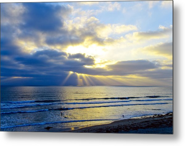 Lands End Metal Print by Tony Marinella