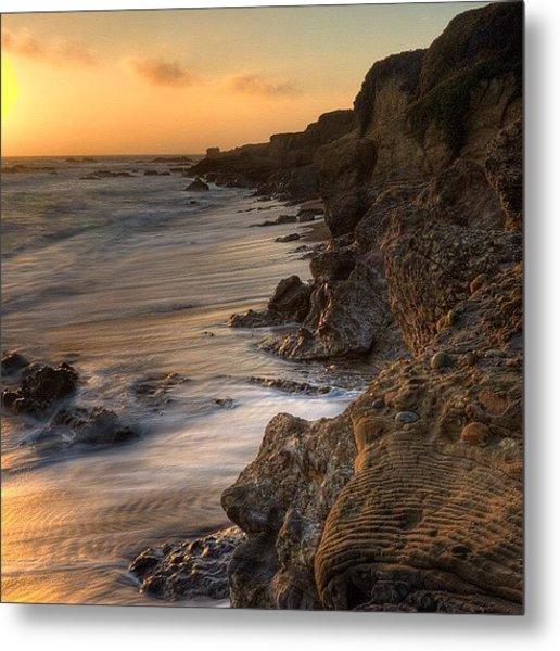 #landscape #landscapelovers #pescadero Metal Print