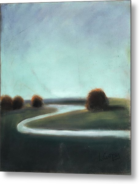 Landscape No 3 Metal Print by L Cooper