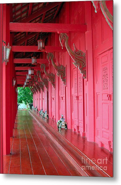 Langkawi Summer Palace Metal Print by Graham Taylor