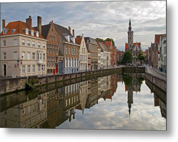 Late Afternoon Reflections Metal Print